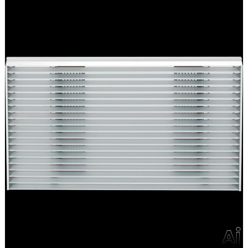 Architectural Louvered Exterior Grille for
