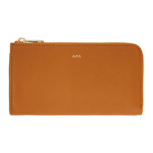 A.P.C. Tan Long Zip Wallet