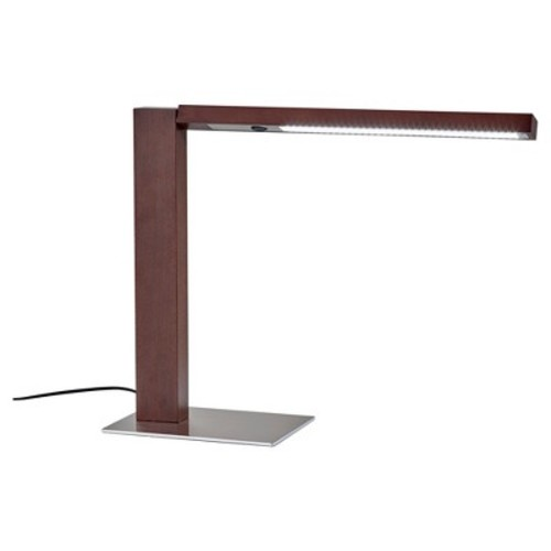 Adesso Linden LED Desk Lamp - Brown