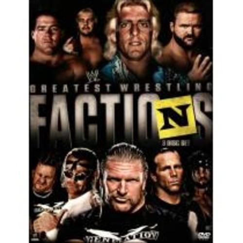WWE: Wrestling's Greatest Factions [3 Discs] [DVD] [2014]