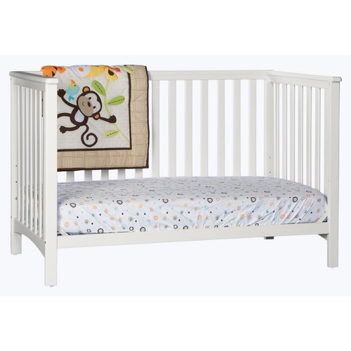 Storkcraft Hillcrest Fixed Side Convertible Crib Espresso