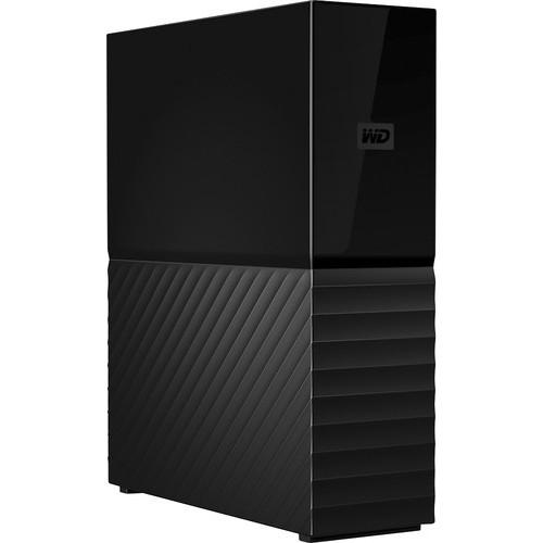 WD My Book 8TB External Desktop Hard Drive, Black WDBBGB0080HBK-NESN
