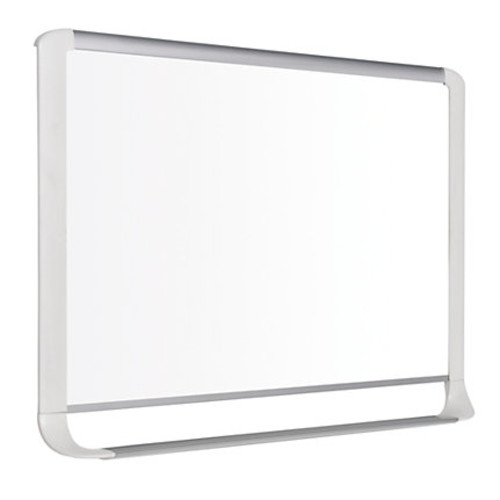 MasterVision MVI Series Gold Ultra Magnetic Dry-Erase Whiteboard, Lacquered Steel, 48