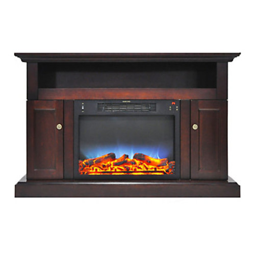 Cambridge Sorrento Electric Fireplace With Multicolor LED Insert And Entertainment Stand, 47