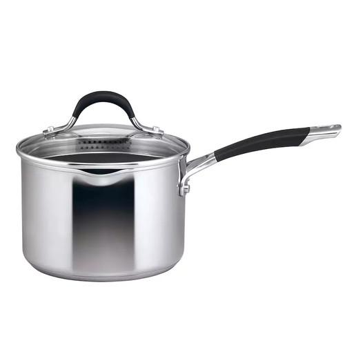 Circulon Momentum 3-qt. Stainless Steel Nonstick Straining Saucepan