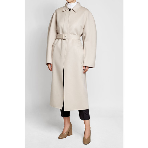 Fleece Wool Coat
