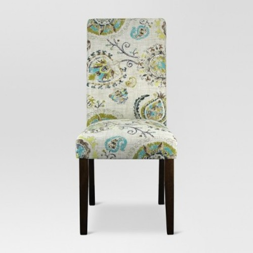 Avington Print Accent Dining Chair - Junoon Gray (1 Pack) - Threshold