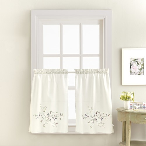 April Kitchen Tier Curtain Pair