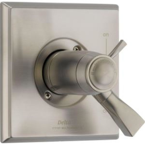 Delta Dryden TempAssure 17T Series 1-Handle Volume/Temperature Control Valve Trim Kit Only in Stainless (Valve Not Included)