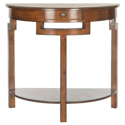 Safavieh Liana Filbert Brown Storage Console Table