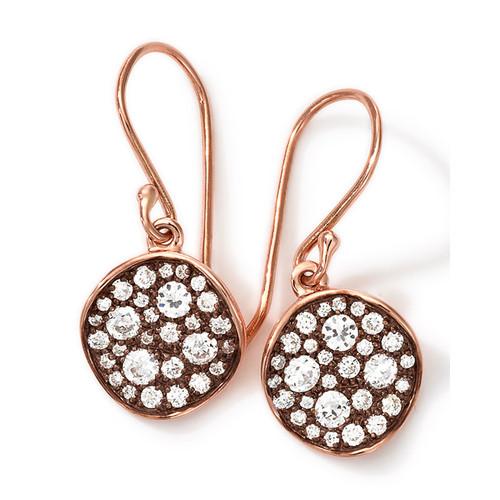 IPPOLITA 18K Gold Stardust Mini Flower Earrings with Diamonds