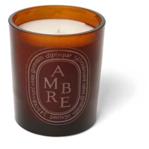 Diptyque - Brown Amber Scented Candle, 300g