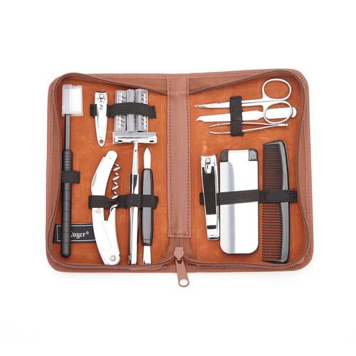 Royce Leather Travel & Groom Kit