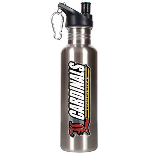 Louisville Cardinals Stainless Steel Water Bottle