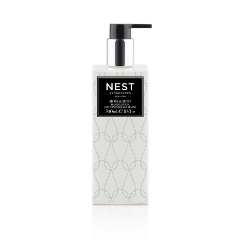 Moss and Mint Hand Lotion design by Nest Fragrances