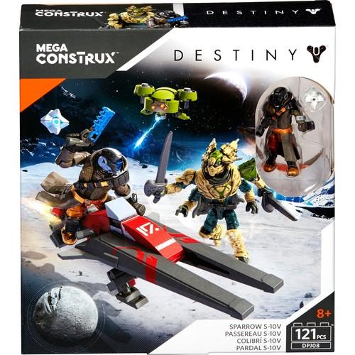 Mattel - Mega Construx Destiny Sparrow Racing Legend Building Set