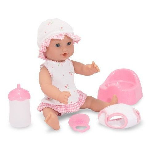 Melissa & Doug Mine to Love Jenna 12-Inch Soft Body Baby Doll With Romper and Hat [Standard]