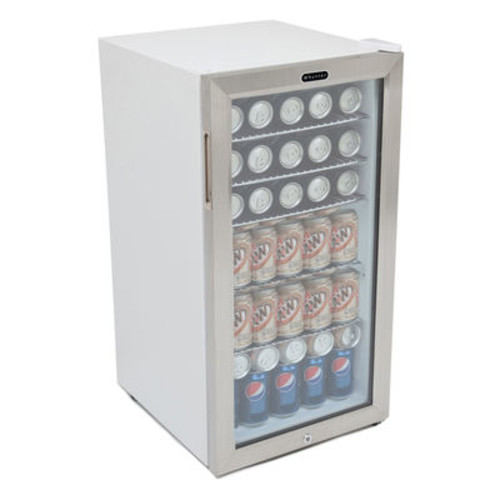 Whynter 120 Can Beverage Refrigerator with Lock