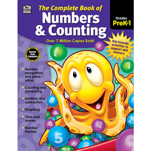 The Complete Book of Numbers & Counting, Grades PreK - 1