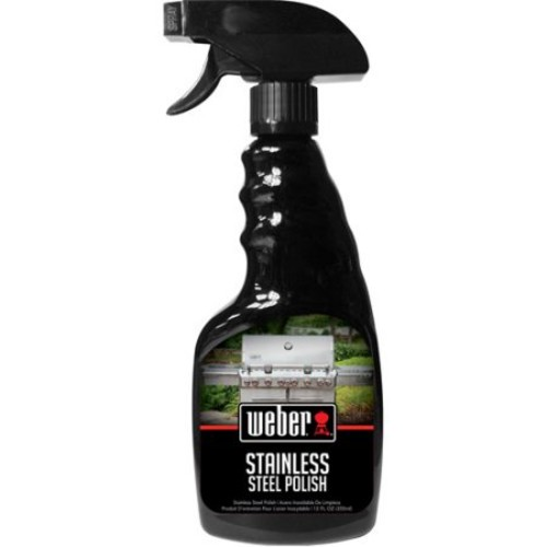 Weber Stainless Steel Polish Barbeque Grill Cleaner - W67