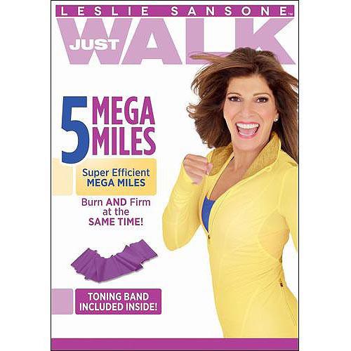 Leslie Sansone: Just Walk - 5 Mega Miles (DVD) 2013
