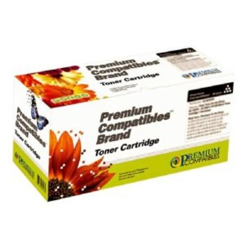 Premium Compatibles TN-250 TN250 Black Toner Cartridge for Brother Printers (TN250PCI)
