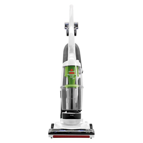 BISSELL PowerSwift Pet Compact Bagless Upright Vacuum, White, 13H8K