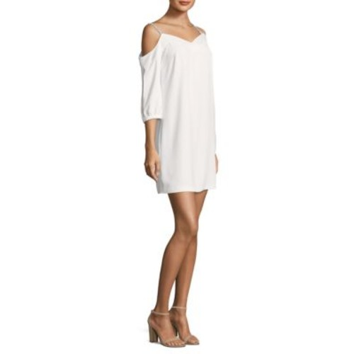 TRINA TURK Cold Shoulder Shift Dress