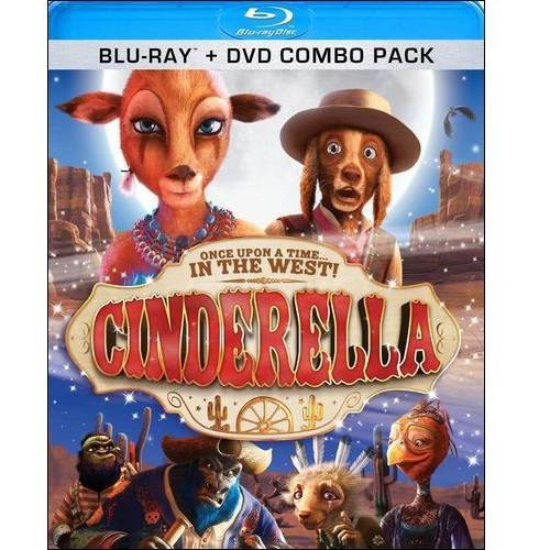 Cinderella: Once Upon a Time...In the West! (Blu-ray + DVD)