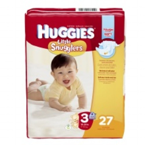 Huggies Little Snugglers Baby Diapers Size 3