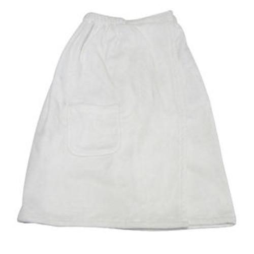 Radiant Saunas Women's Spa and Bath White Terry Cloth Towel Wrap