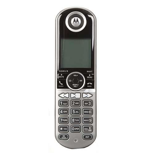 Motorola 2-Handset Cordless Phone - DECT 6.0, Built-in Answering System, ENERGY STAR Certified (P1002)