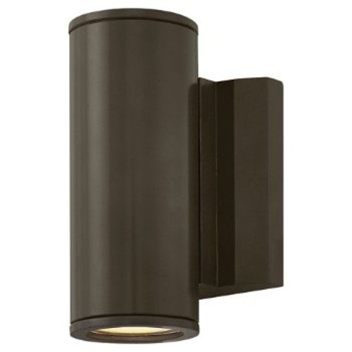 Kore Round Wall Sconce [Finish : Bronze; Light Option : Uplight and Downlight]