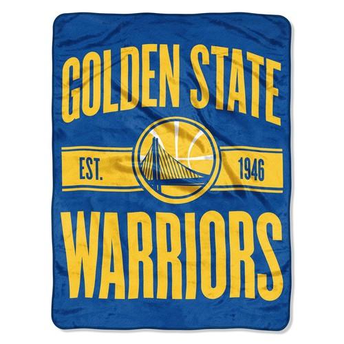 NBA(CANONICAL) Plush Throw - Golden State Warriors