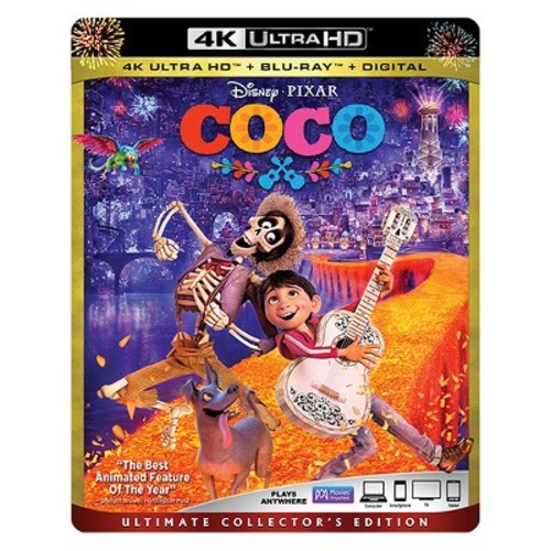 Coco (4K/UHD + Blu-ray + Digital)
