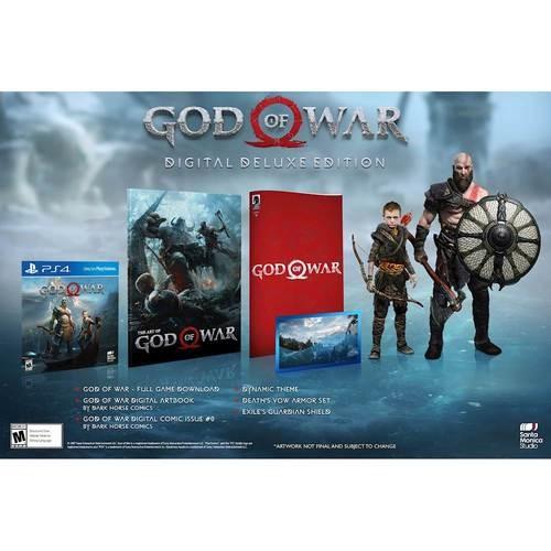 God of War Digital Deluxe Edition - PlayStation 4 [Digital]