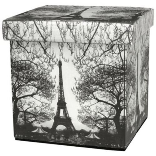 Oriental Furniture Eiffel Tower Storage Ottoman