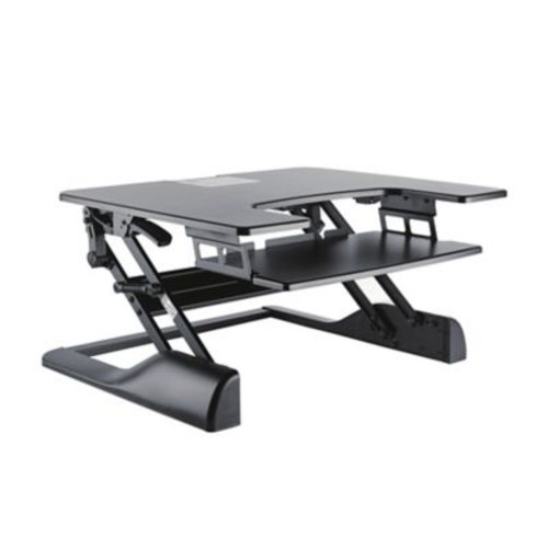 TygerClaw Sit-Stand Desktop Workstation Stand (TYDS14013)