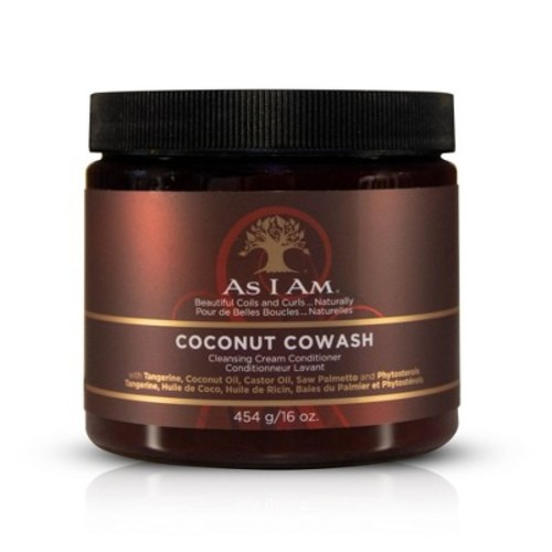 As I Am Coconut Cowash Cleansing Conditioner, 16 Ounce [16 ounce]