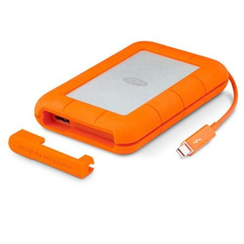 LaCie Rugged 1TB Thunderbolt USB 3.0 Portable Hard Drive LAC9000488