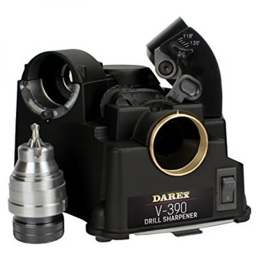 DAREX Drill Bit Sharpener - Model : V390 Capacity: 1/8