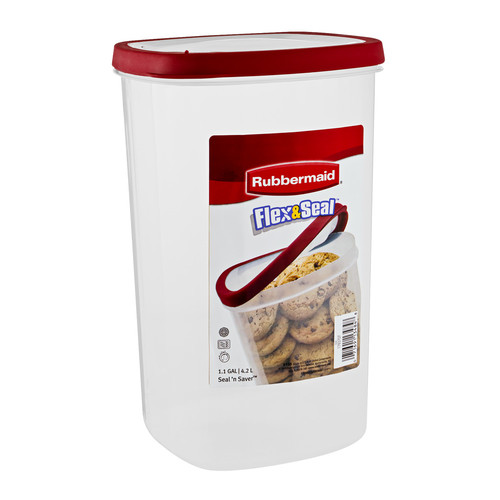 Rubbermaid Flex & Seal Plastic Container