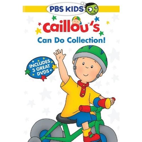 Caillou: Caillou's Can Do Collection 3-Disc DVD