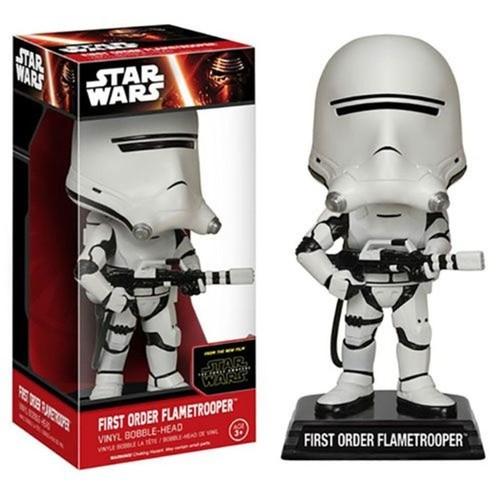 Funko Star Wars The Force Awakens First Order Flametrooper Wacky Wobbler