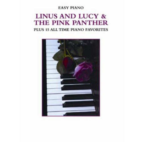 Alfred Linus and Lucy & The Pink Panther Plus 15 All Time Piano Favorites - Music Book(ALFRD41163)