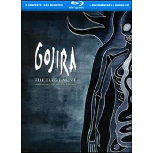 Gojira: The Flesh Alive [3 Discs] [DVD/CD] WSE DTS-ES/DD5.1