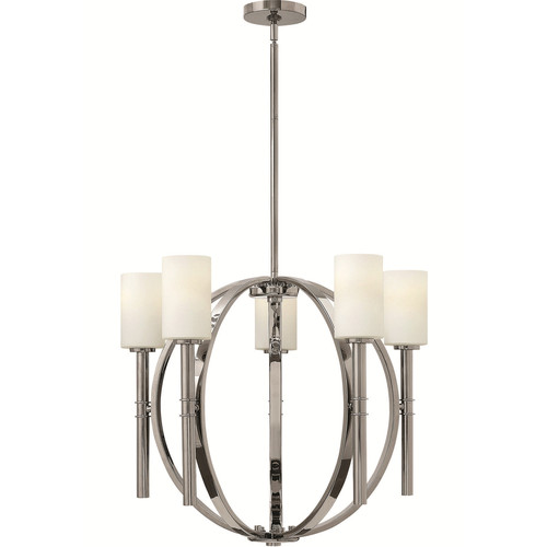 Margeaux Chandelier [Finish : PN - Polished Nickel]