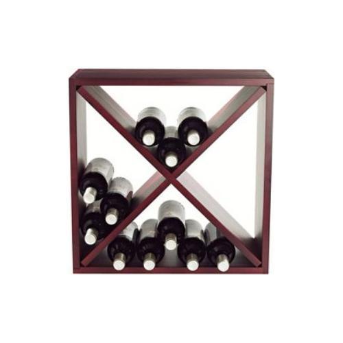 Wine Enthusiast 24-Bottle Compact Cellar Cube Wine Rack-640 24 04