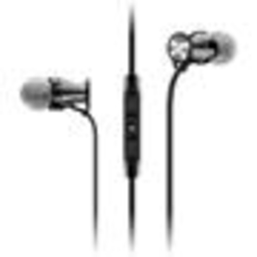 Sennheiser HD 1 In-ear (Black Chrome) In-ear headphones with Apple remote and microphone