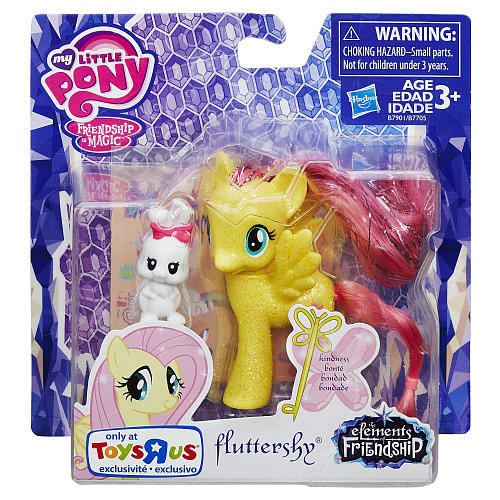 My Little Pony Elements of Friendship Fluttershy Kindness Figure